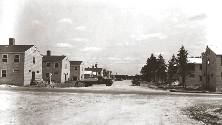 Camp McCoy exterior in 1942