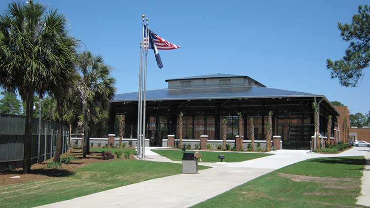Costal Carolina higher education facility exterior