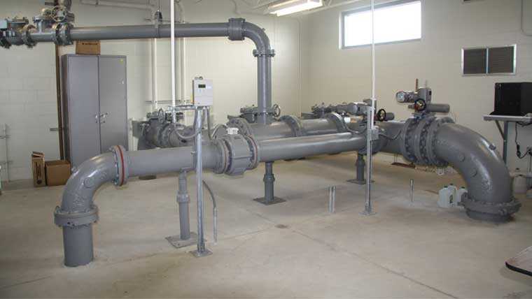 Dane County Glycol Management system