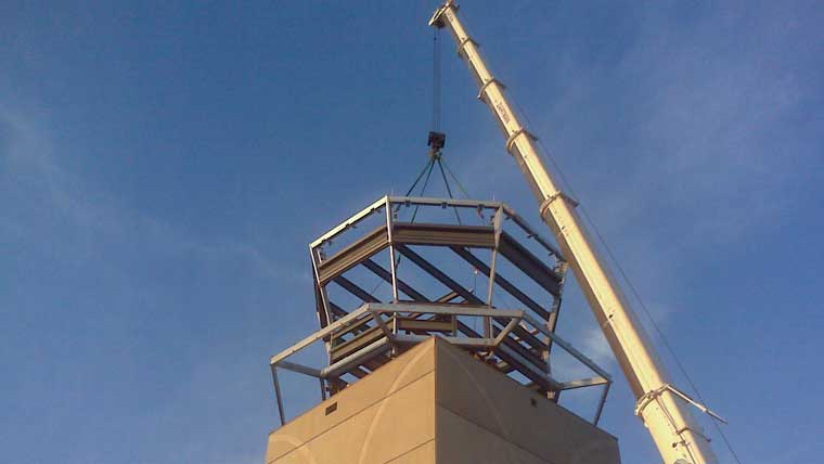 Traffic tower being built at University Park Airport