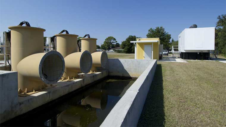 Cambridge Canal Basin stormwater pump station pipes