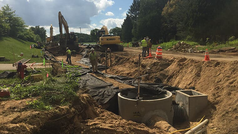 Lacy Road Rural Roadway Reconstruction