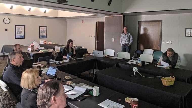 EIA non-profit board meets