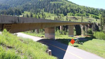 Vail Pass cultural resources highway review