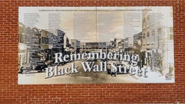 Black Wall Street mural remembers Tulsa's race massacre