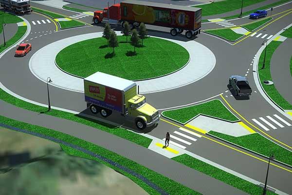 visualization of roundabout