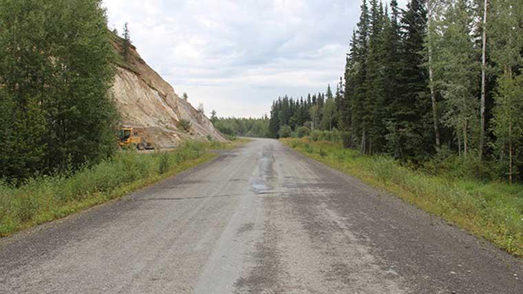 Alaska historic road