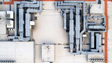 HVAC systems at food plant