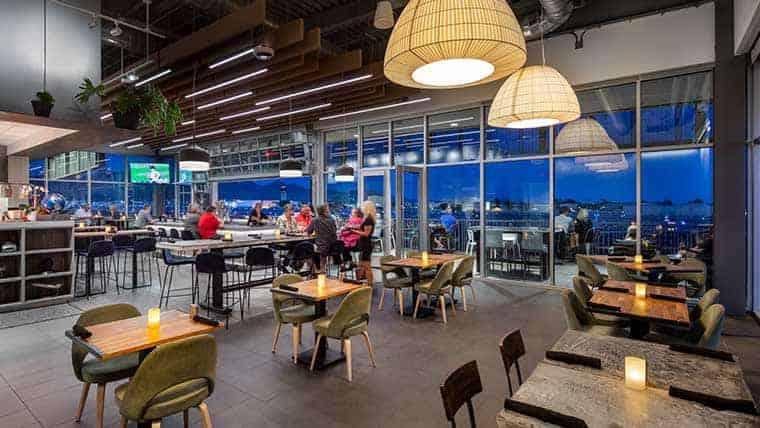Restaurant at Scottsdale Airport