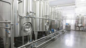 Sanitary design of equipment