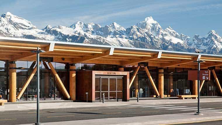 Jackson Hole Airport exterior