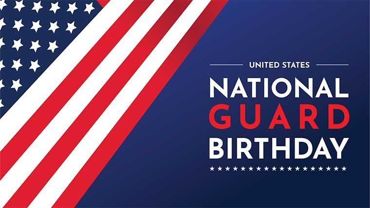 US National Guard birthday
