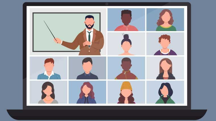 professional organization virtual meeting