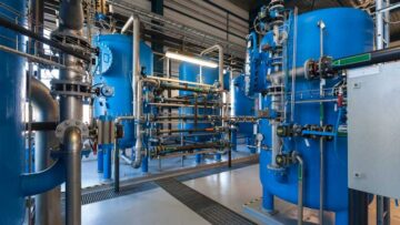 Food plant wastewater treatment system