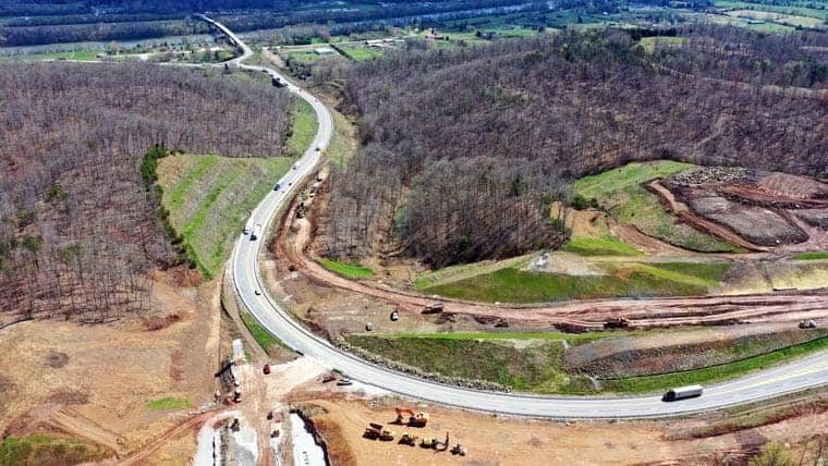 Construction of US 35