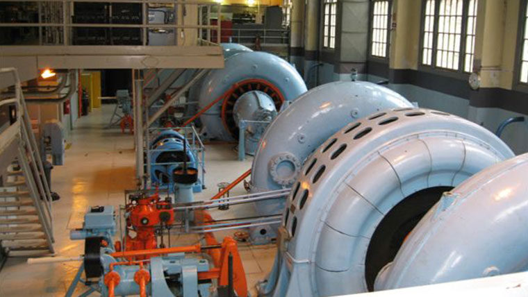 Critical equipment in a facility.