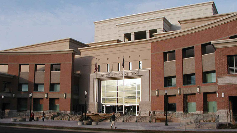 Ada County Courthouse exterior
