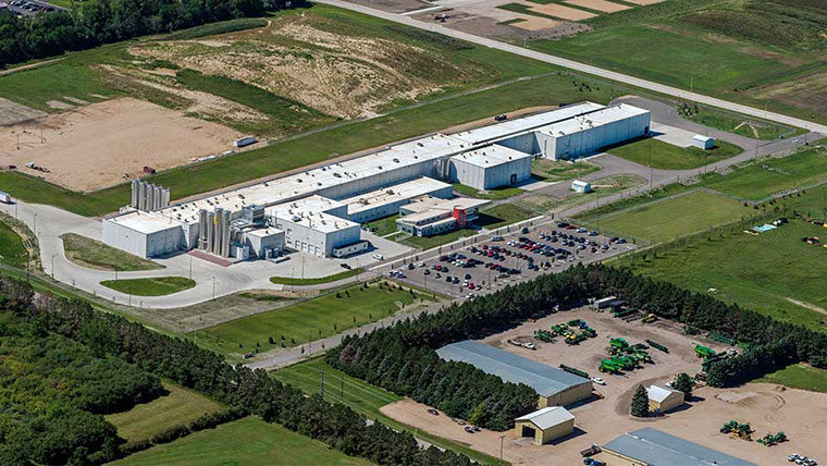 Greenfield cheese plant