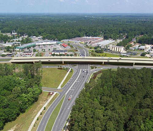 Rendering of Backgate Bridge and US 17