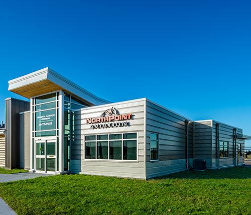 Brainerd Airport terminal exterior