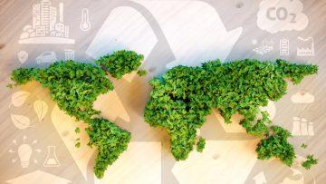 CO2 environmental map