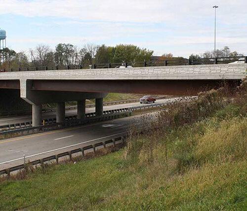 Colliers Way Bridge over highway