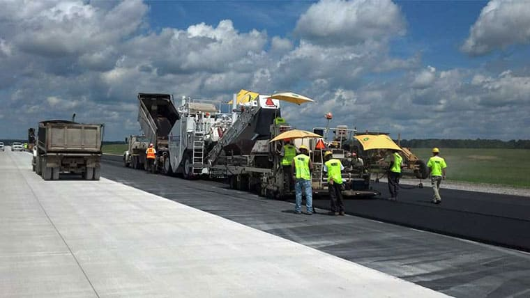 Columbus Air Force Base Runway Reconstruction