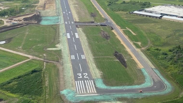 Detroit Lakes County Airport Runway 32