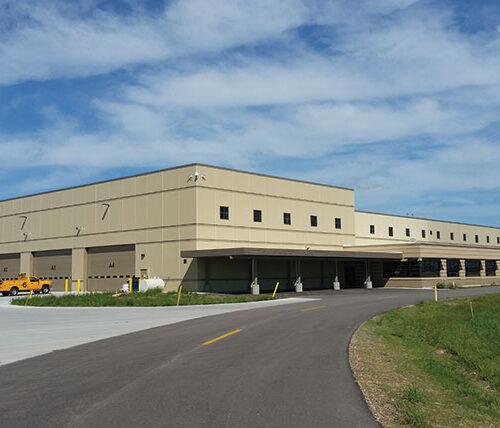 Dane County Regional Airport Snow Removal Equipment Facility exterior