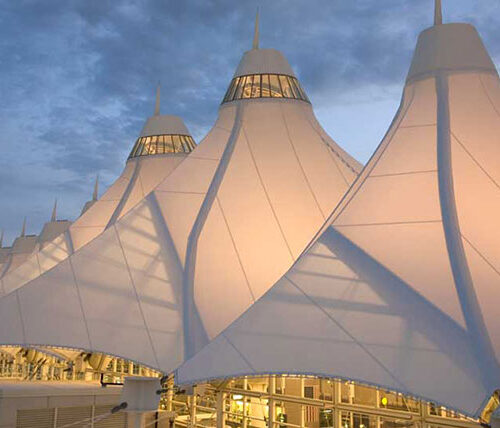 Denver Airport tents