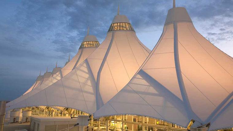 Denver Airport tents