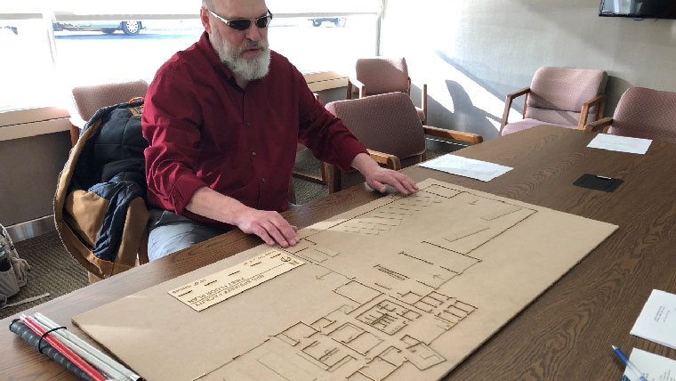 ADA accessibility through tactile building models