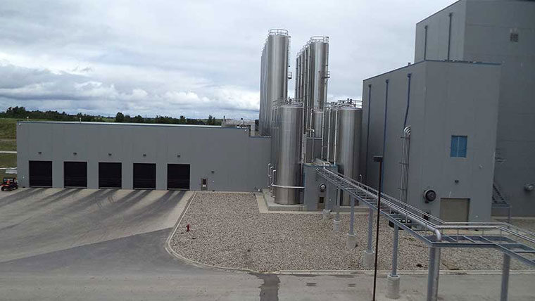 Powdered milk processing facility