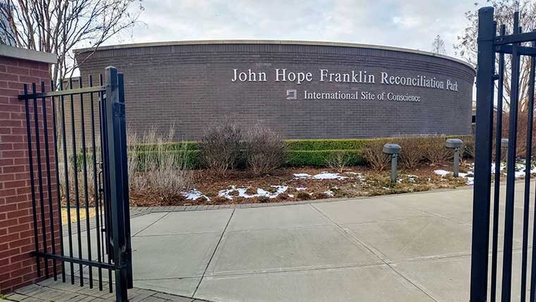 The John Franklin Hope Reconciliation Park