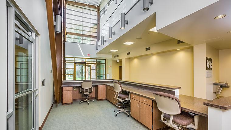 Fresno Squadron Operations Building interior