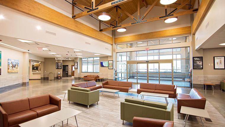 Friedman Airport seating