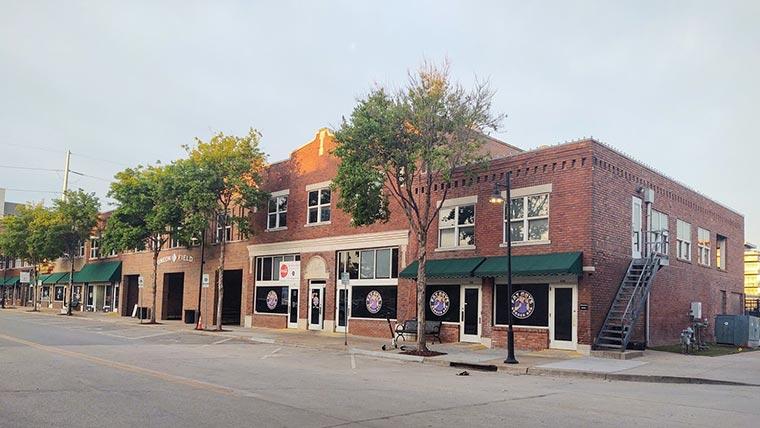 A block of Greenwood Avenue