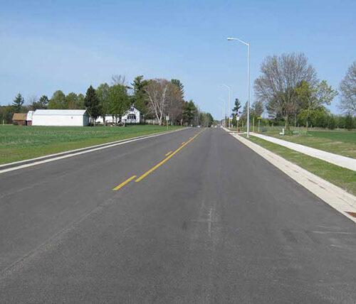 Gresham street roadway