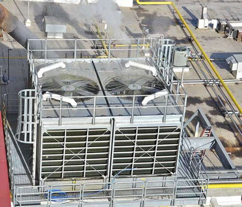 HVAC for Skim Milk facility