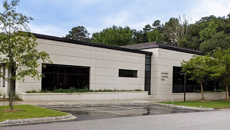 Heyward Career and Technology Center exterior.