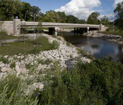 STH 54 Duck Creek bridge