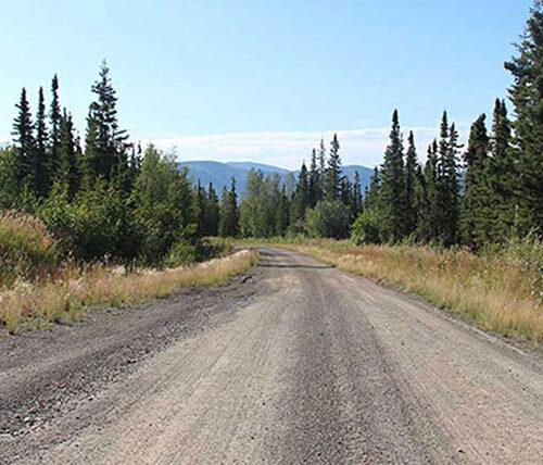 Historic Road in Alaska