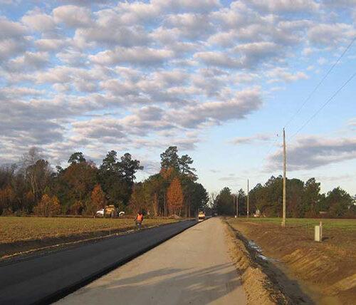 Ride II dirt road paving program