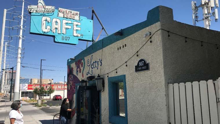 Letty's cafe in Las Vegas