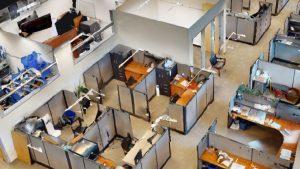 3D scanning model of inside of building