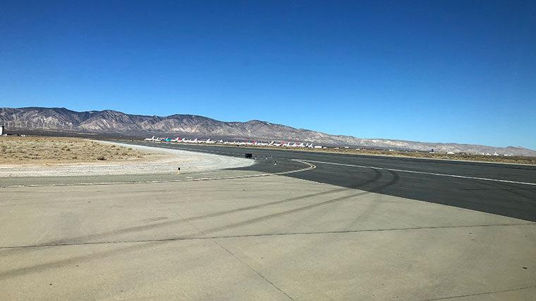 Mojave Airport runway