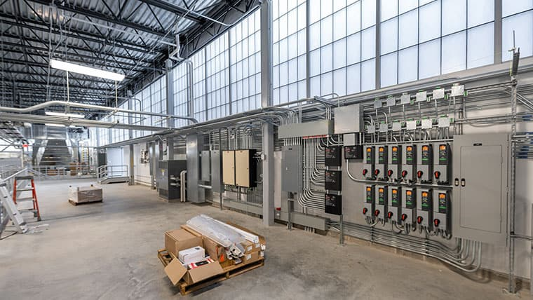 Electric panels in Nakoosa facility