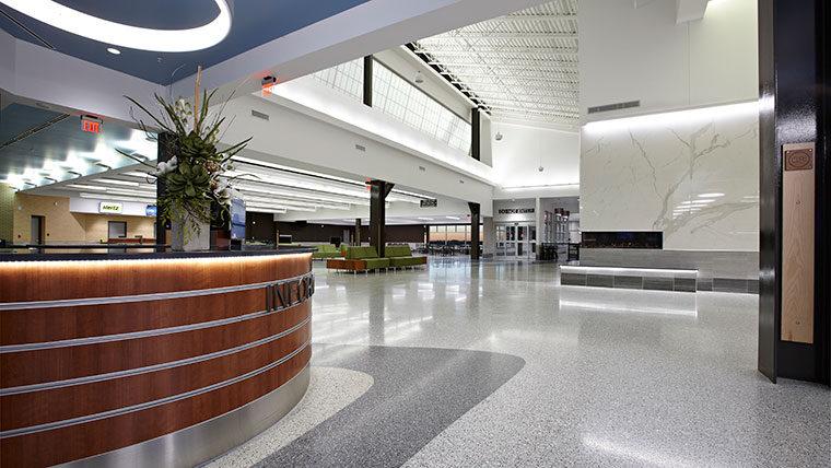 Central Nebraska Airport Information desk