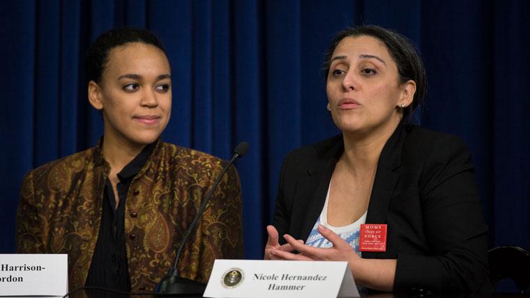 Nicole Hernandez Hammer speaks at White House SoSTEM address