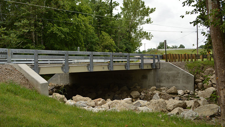 Bridge from Ohio Bridge Partnership Program